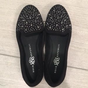 Rock and Republic studded flats